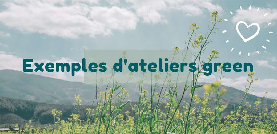 exemples catalogues atelier green